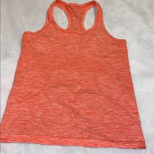 Lululemon swiftly speed racer back size 8 in pink
